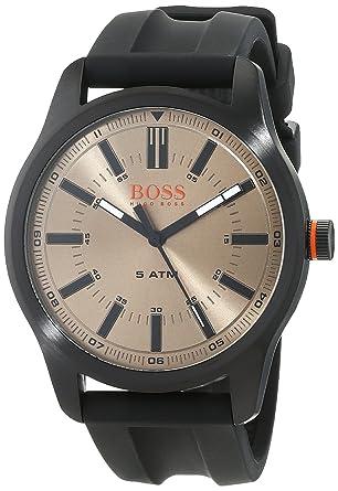 5211eed6ab19 Hugo Boss Orange Homme Analogique Classique Quartz Montres bracelet avec  bracelet en Silicone - 1550045