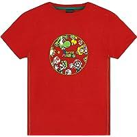 Super Mario Camiseta Niño, Camisetas de Manga Corta Mario Bros, Ropa Niño Algodón, Regalos para Niños y Adolescentes…