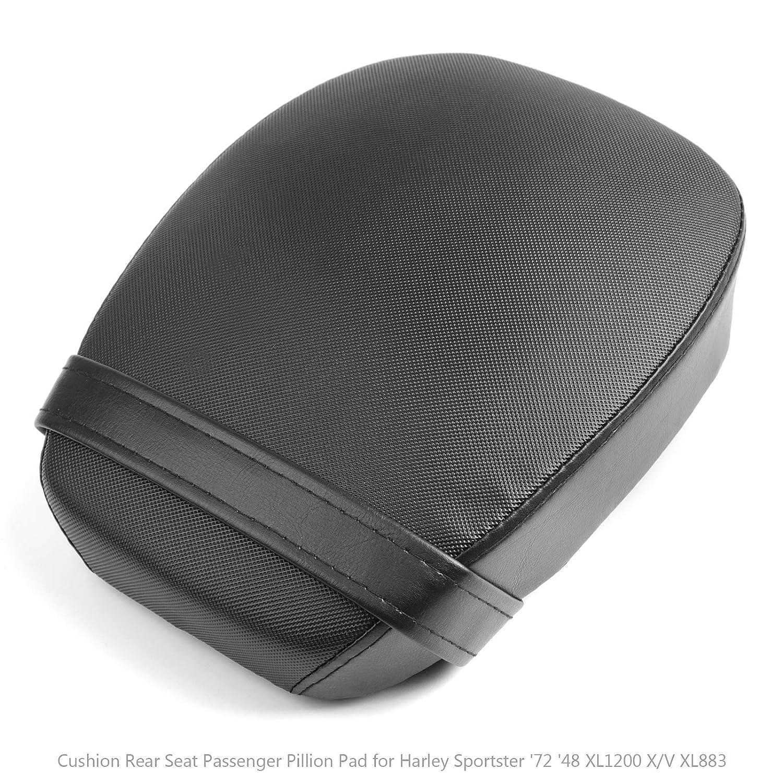 Cuscino di ricambio per sedile passeggero posteriore in pelle Artudatech per Harley Sportster XL1200 883 72 48 2012-2016