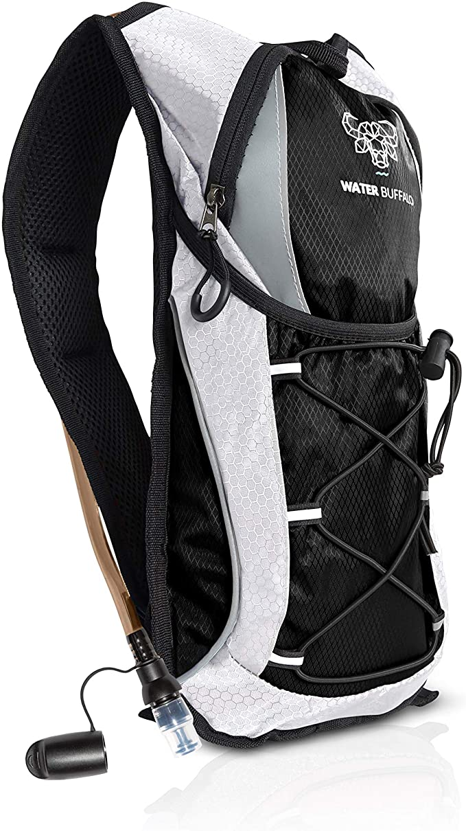 Water Buffalo Hydration Pack Backpack – 2L Water Bladder