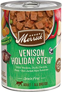 Merrick Grain Free All Breed Sizes Canned Wet Dog Food (Case of 12)