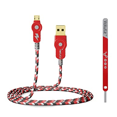 Cable Micro USB volutz cableogy Series (10 pies/3 M) trenzado de nailon