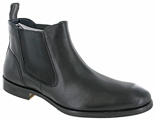 Lambretta Chelsea Boots Mens Leather Desert Twin Gusset Moorgate UK 7 12