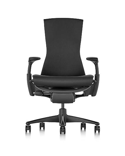 Amazon Com Herman Miller Embody Chair Graphite Frame Black Rhythm