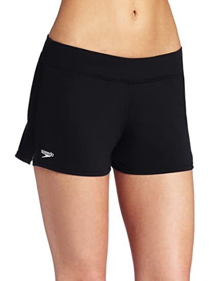 0f7a3f4686 Amazon.com: Speedo Women's Endurance Solid Swim Short Coverup: Clothing