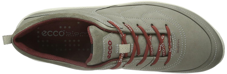 Ecco Biom Grip Lite Damen Outdoor Grau/Port Fitnessschuhe Grau (Warm Grau/Warm Grau/Port Outdoor 58721) 46f2c5