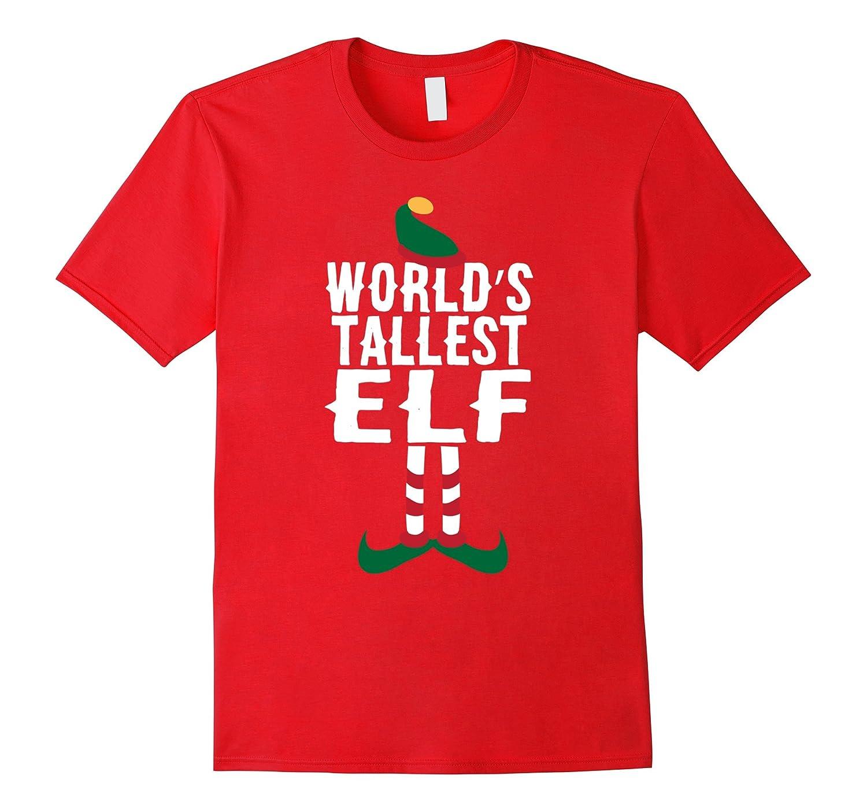 7b77b81c4 World's Tallest Elf Shirt Funny Christmas T-Shirt Xmas Humor-ANZ ⋆ Anztshirt