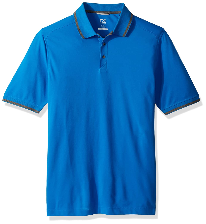 カッター&バック アドバンテージ チップド 半袖ポロシャツ B074JBMJJ5 Large|Digital Digital Large