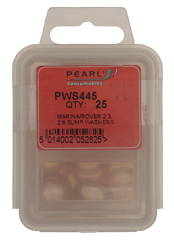 Pearl PWS445 - Confezione da 25 rondelle per coppa olio Micra Pearl Automotive