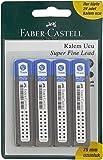 Faber-Castell 5500127775 F.C.Bls. 4'Lü Super Fine Min, 2B, 0.7