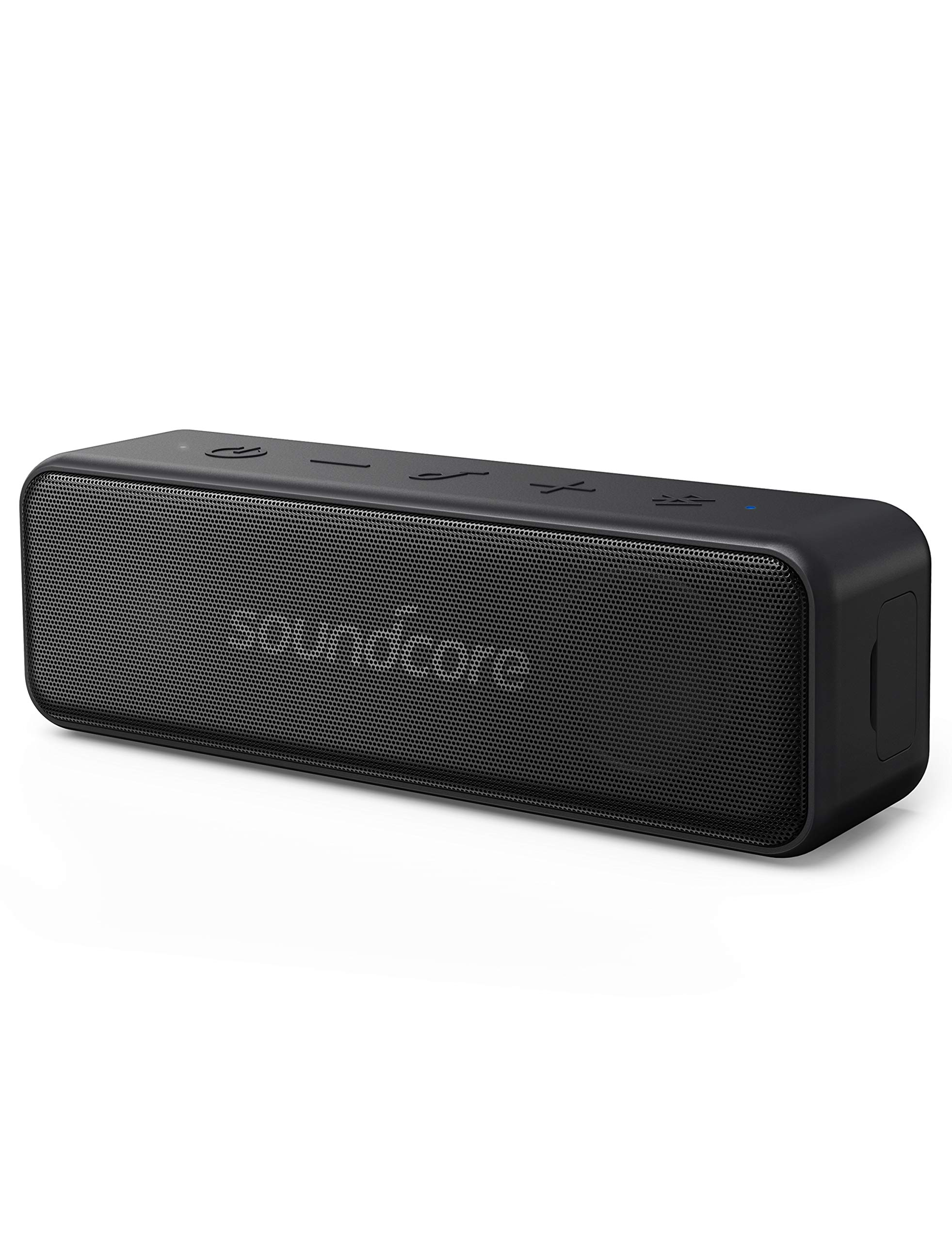 Anker Soundcore Motion B, Portable Bluetooth Speaker, with 12W Louder Stereo Sound, IPX7 Waterproof, and 12+ Hr Longer-Lasting Playtime, Soundcore Speaker Upgraded Edition for Home and Outdoors by Anker