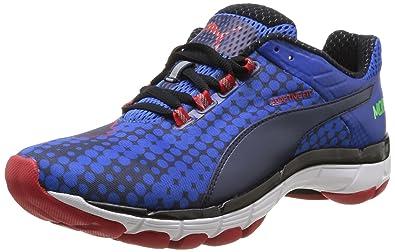 Puma Mobium Elite Speed, Chaussures de running homme - Bleu (Strong Blue/Navy/Red), 43 EU