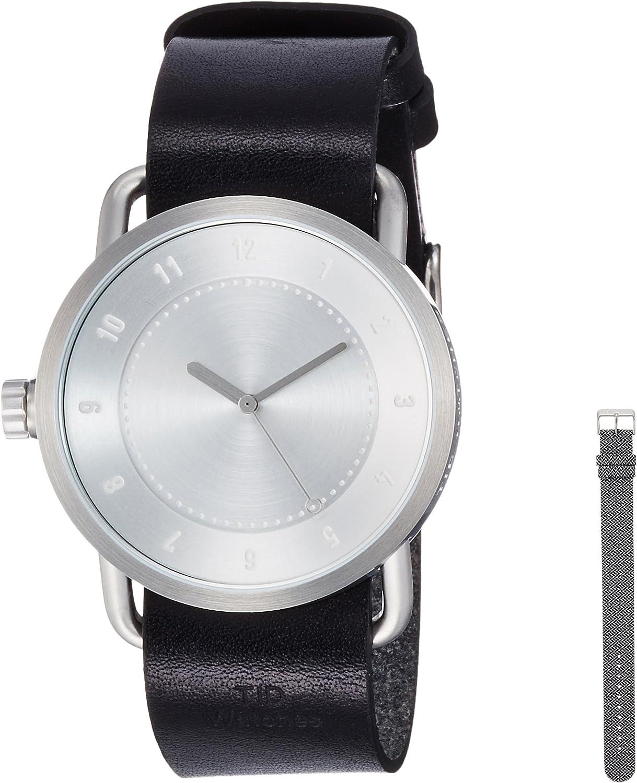 [ティッド] 腕時計 デザイナーズウォッチ ベルトセット スターターキット TID01-SV/BK BELT SET 正規輸入品