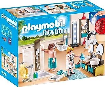 Amazon.de:PLAYMOBIL 9268 - Badezimmer
