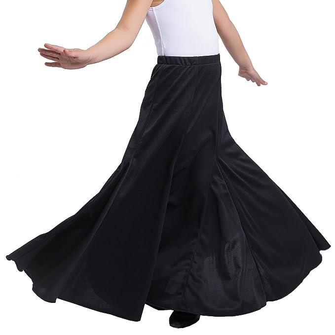 Happy Dance EF052 - Falda de Flamenco para niñas, Color Negro ...