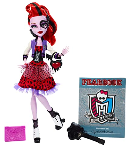 amazon com monster high picture day operetta doll toys games