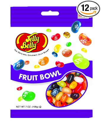 Jelly Belly Jelly Beans, frutero Sabores, 7-ounce bolsas (12 ...