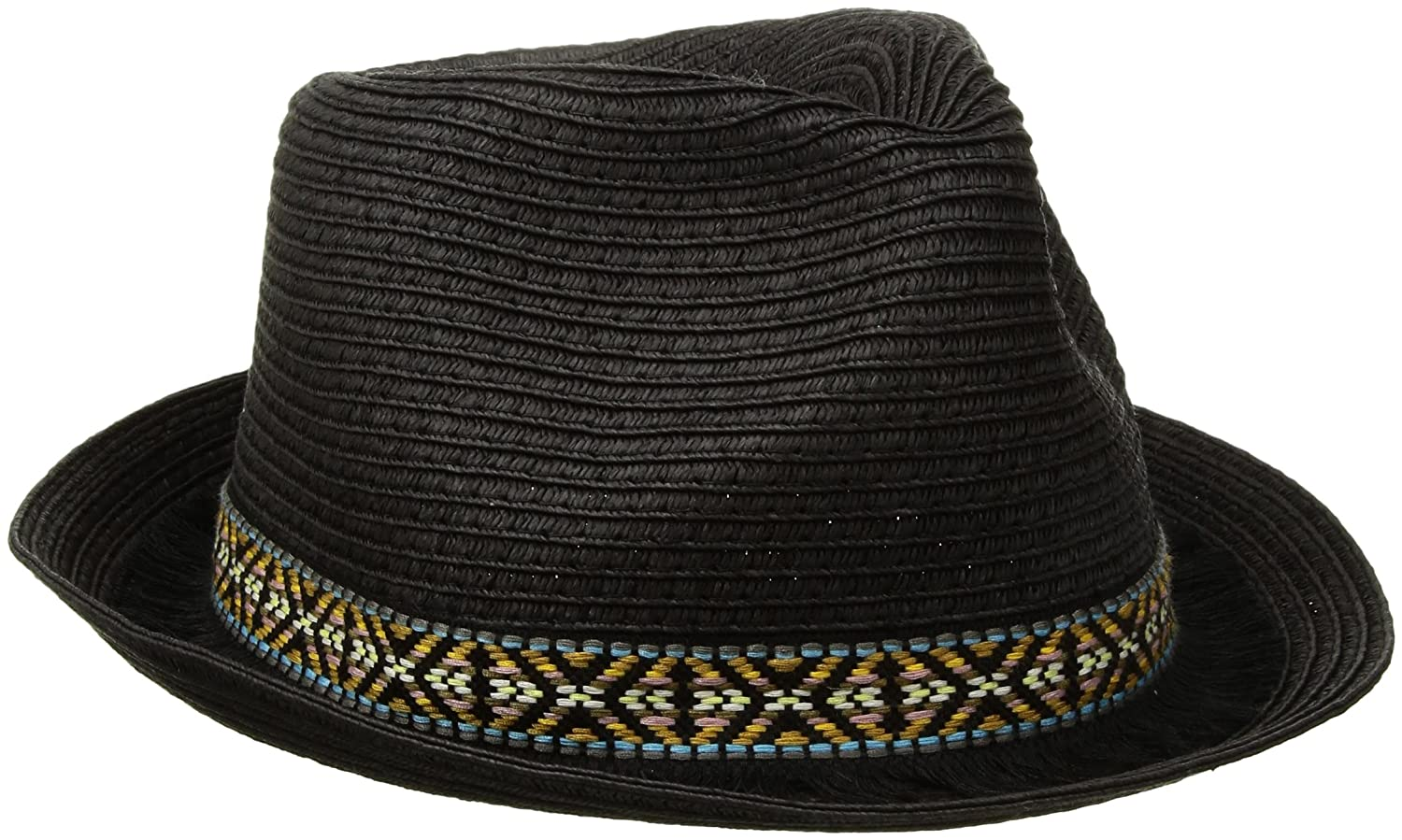 ede11d1604f Roxy Women s Sentimiento Straw Fedora Hat at Amazon Women s Clothing store