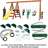 Amazon Com Alpine Custom Swing Set Hardware Kit Wood Not Included