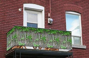 myfence Visual para balcones con diseño: Robin como ...