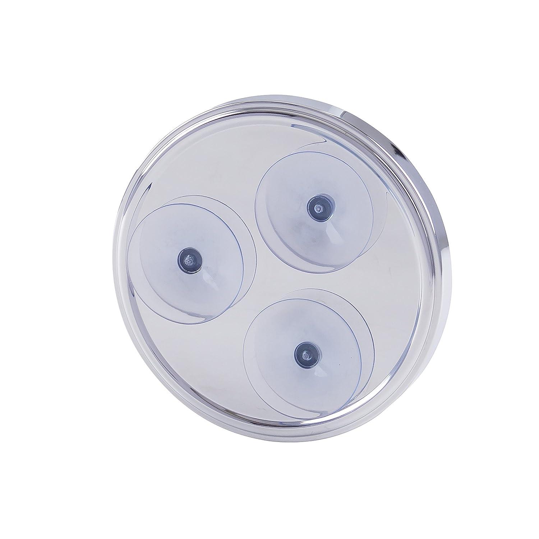 Chrom mit Saughalterung Durchmesser: 15 cm Esbada Schminkspiegel//Kosmetikspiegel // Vergr/ö/ßerungsspiegel