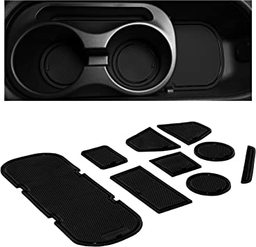 Amazon Com Cupholderhero For Subaru Brz Toyota 86 And Scion Fr S 2012 2020 Custom Liner Accessories Premium Cup Holder And Center Console Inserts 9 Pc Set Solid Black Automotive