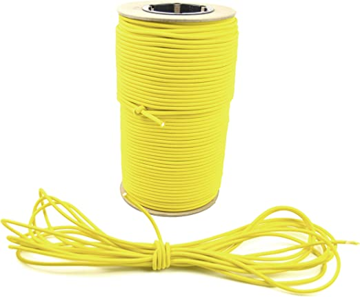 100ft 3//16 Green Bungee Cord Marine Grade Heavy Duty Shock Rope Tie Down Stretch