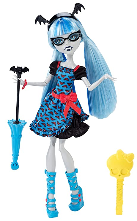 amazon com monster high freaky fusion ghoulia yelps doll toys games