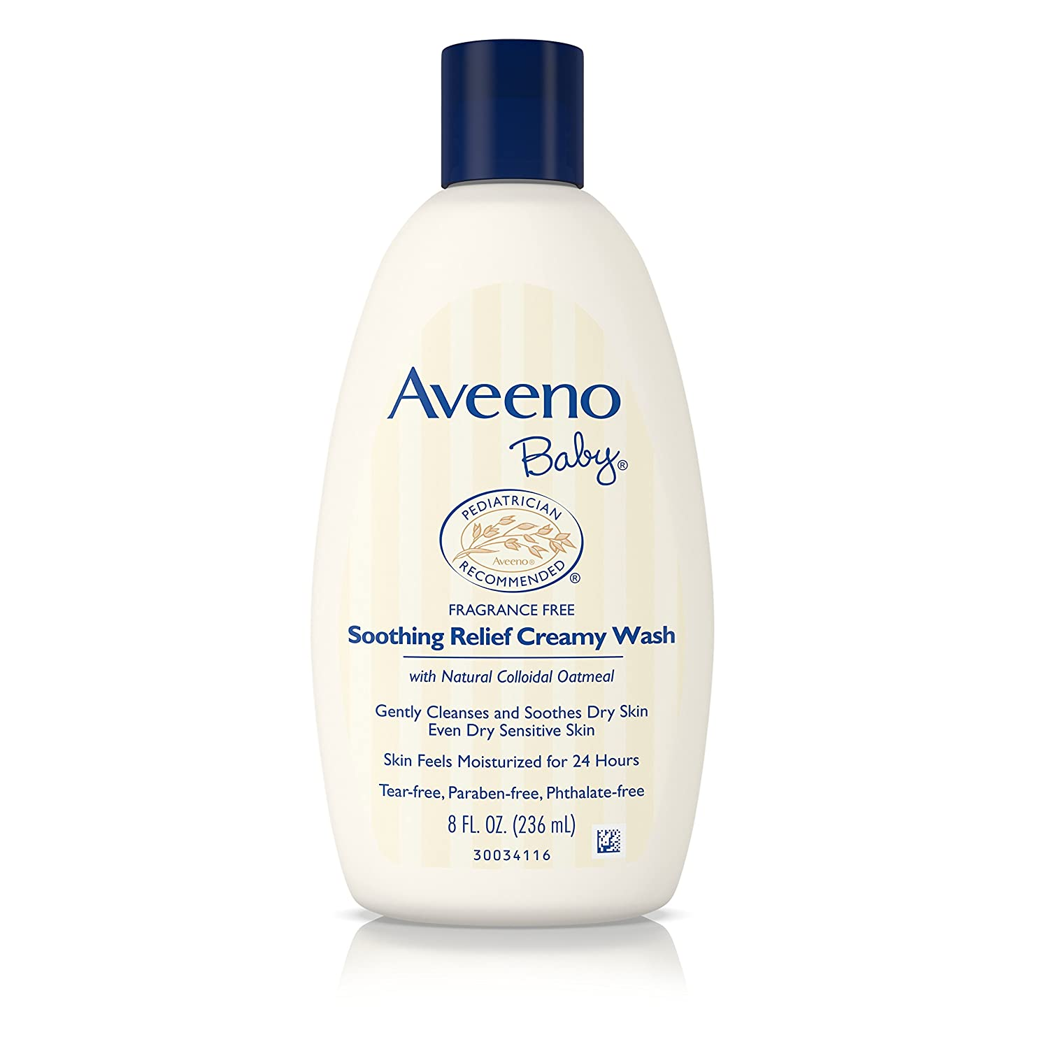 Aveeno Baby Soothing Relief Creamy Body Wash for Kids, 8 Ounce 48206033