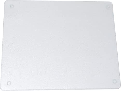 Vance Surface Saver 82016c 20x16 Clear Surface Saver Tempered Glass Cutting Board Amazon Ca Home Kitchen