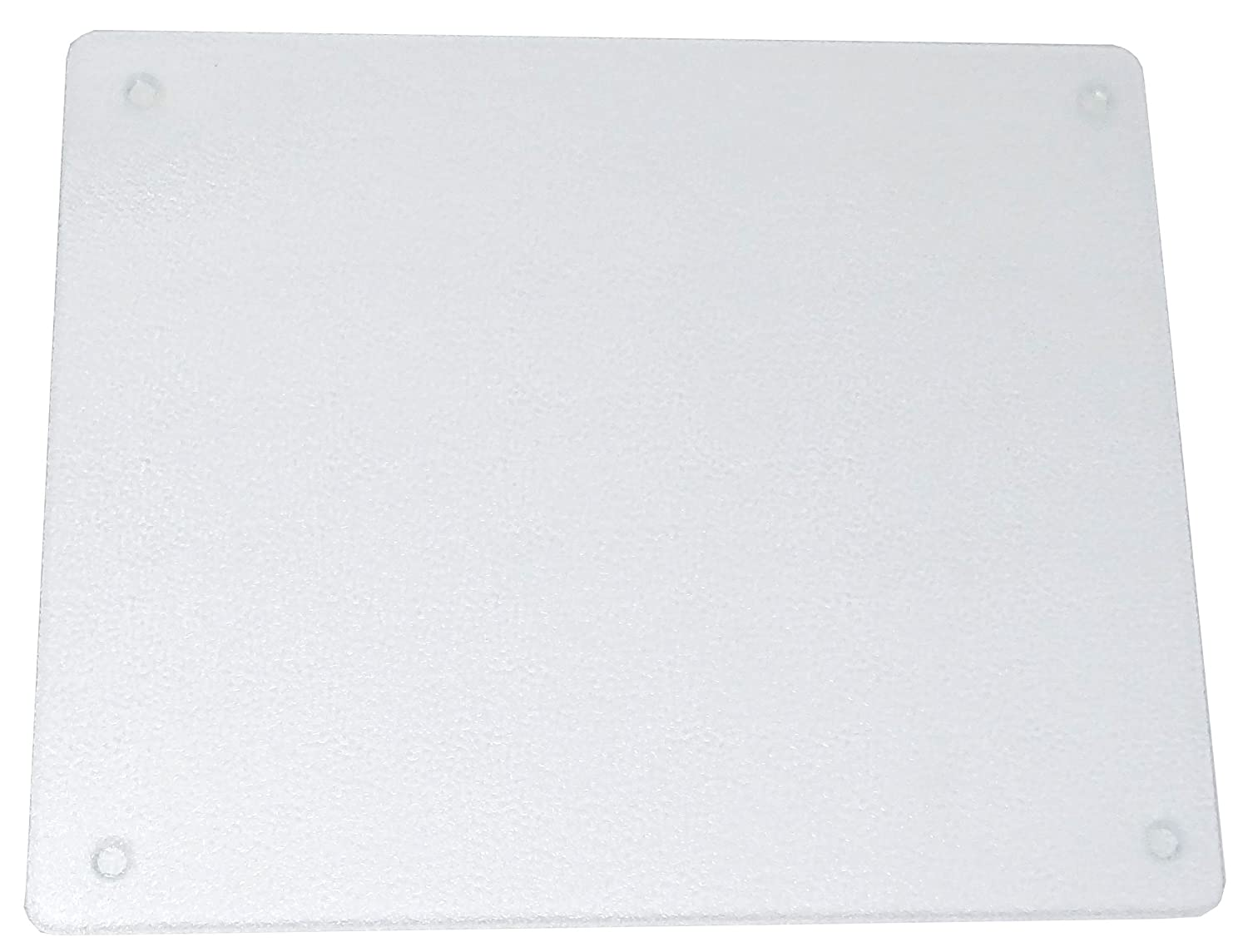Surface Saver Vance 20 X 16 inch Clear Tempered Glass Cutting Board, 82016C, 20 X 16-Inch