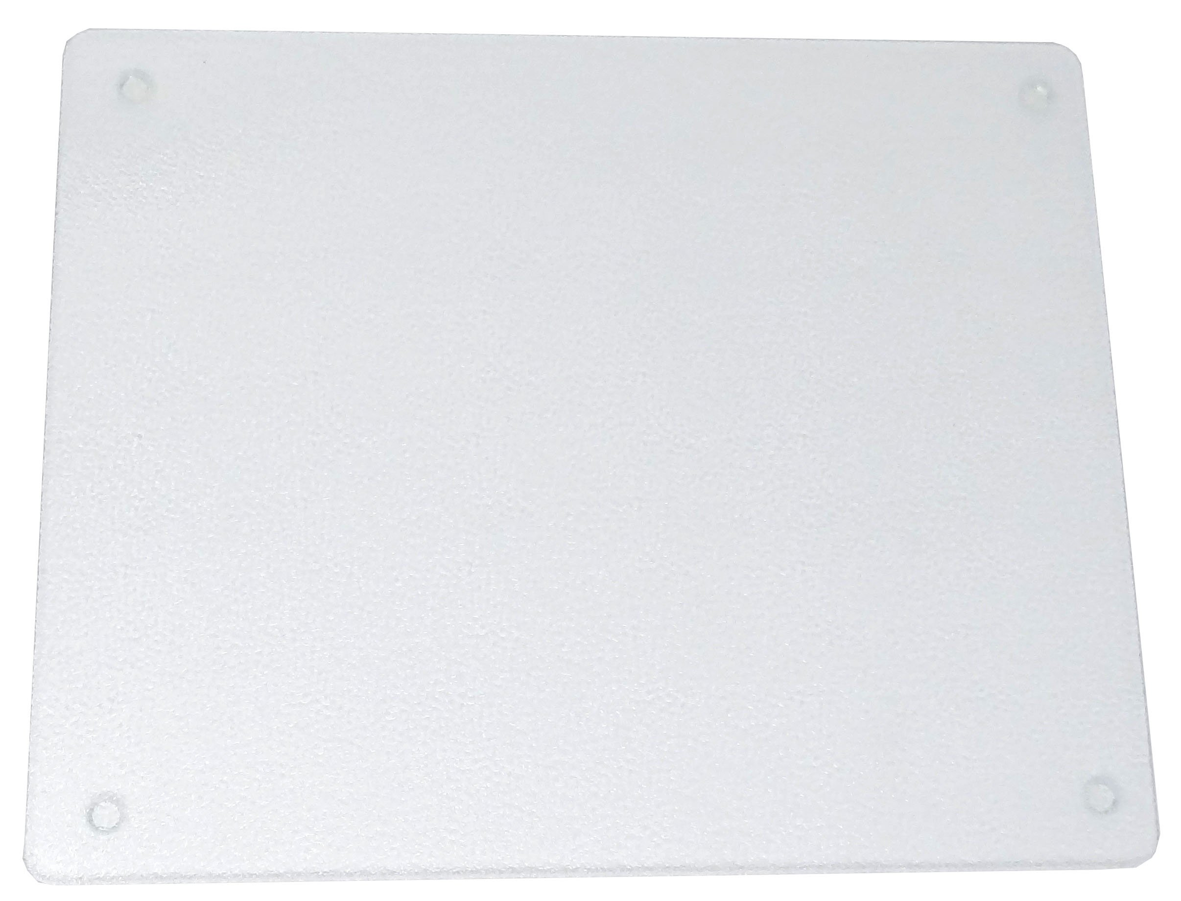 Vance 20 x 16'' Clear Surface Saver Tempered Glass Cutting Board, 82016C