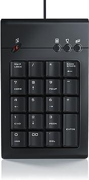 aplic Teclado numérico USB - Teclado numerico: Amazon.es ...