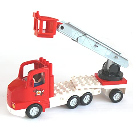Lego® Duplo - Bomberos Camión de bomberos Escalera carro ...