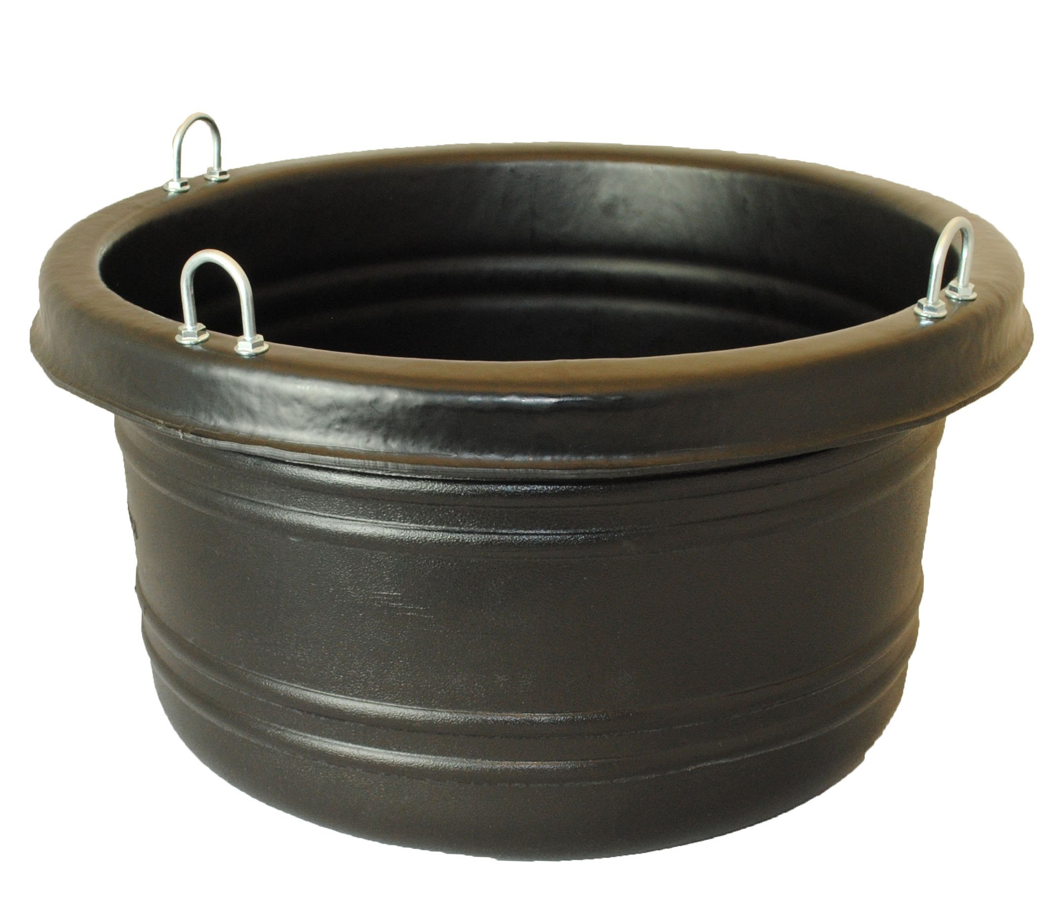 Horsemen's Pride 30 Quart Feed Tub, Black by Horsemen's Pride