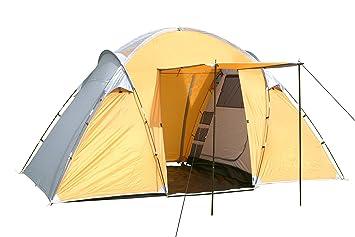 2-Raum-Campingzelt für 4 Personen Zelt Familienzelt Camping Zelte Schlafzelt Neu