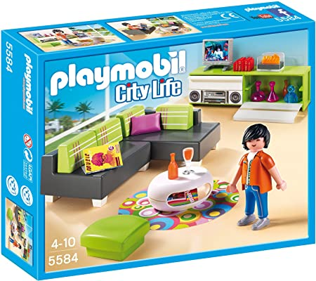 Playmobil 5584 - Wohnzimmer: Amazon.de: Spielzeug