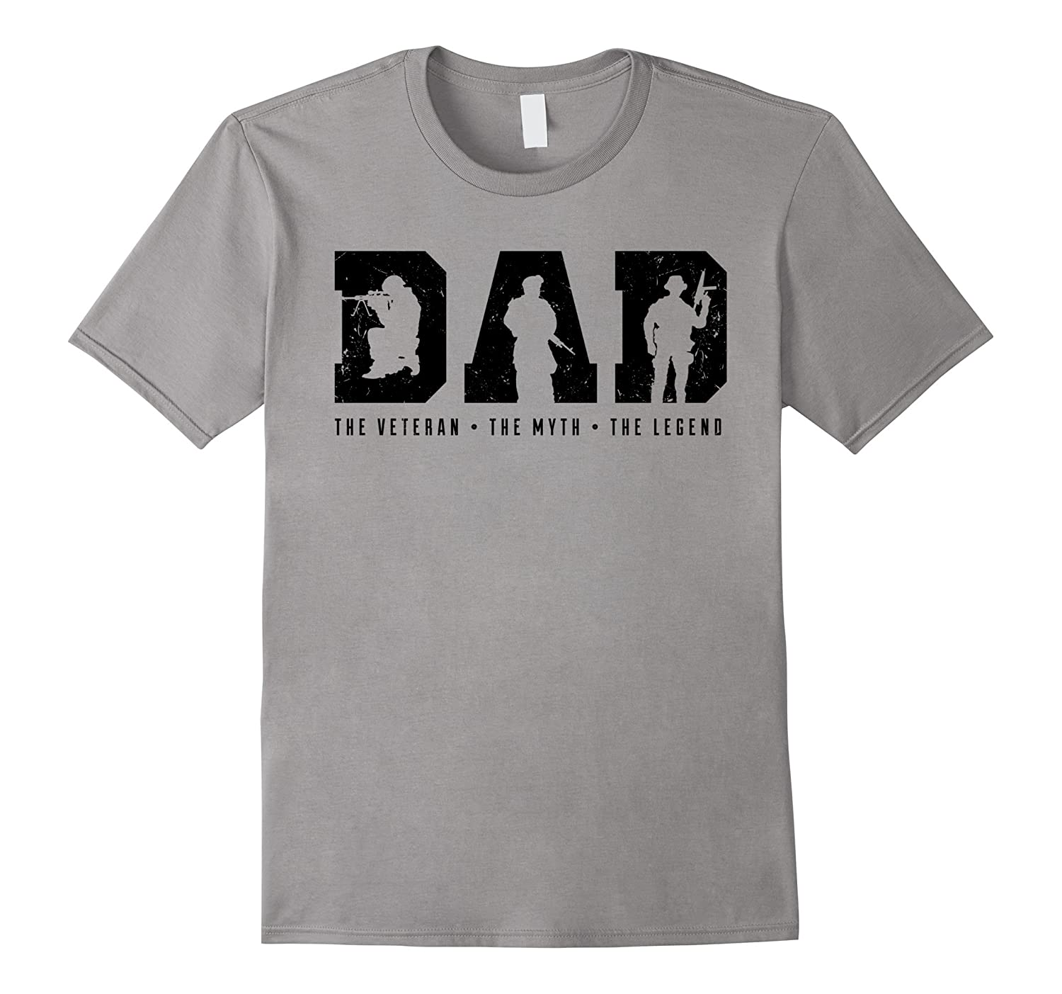 Mens Dad – The Veteran The Myth The Legend Shirt