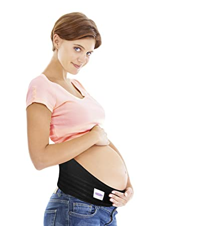 a19c6d073d4b8 Image Unavailable. Image not available for. Color: Gabrialla Breathable  Maternity Belt Medium Pregnancy Support w/Cotton Lining MS-96(i