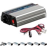 VOLTRONIC MODIFIZIERTER SINUS PKW Spannungswandler Inverter Wechselrichter 12V auf 230V 300W USB Stromwandler Auto (Modell 2018) 3 Jahre Garantie