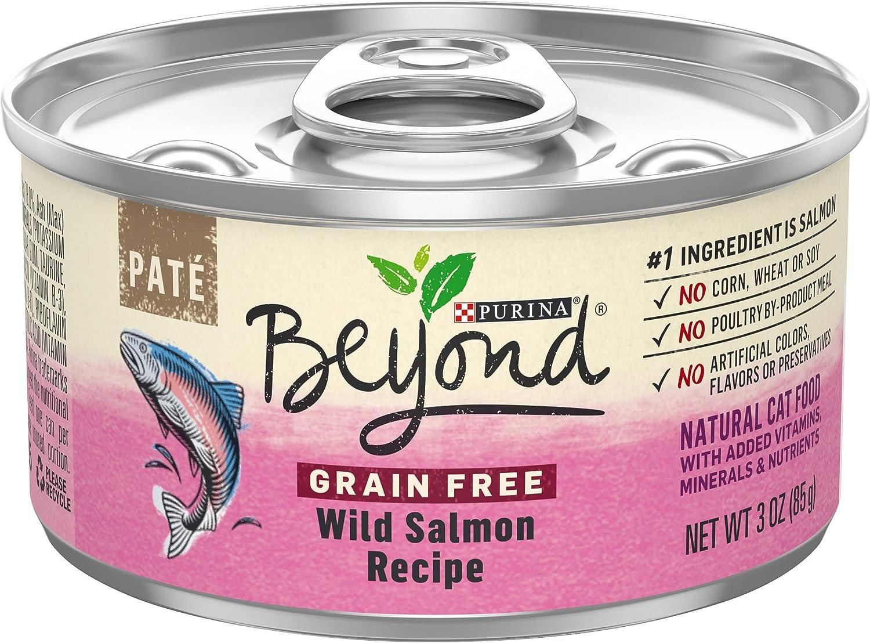 Purina Beyond Grain Free, Natural, Adult Wet Cat Food Pate