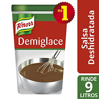 Knorr Salsa Demiglace para carnes bote 900g - Lote de 6