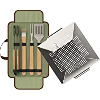 Kits de cepillos y rasquetas para barbacoas y ahumadores