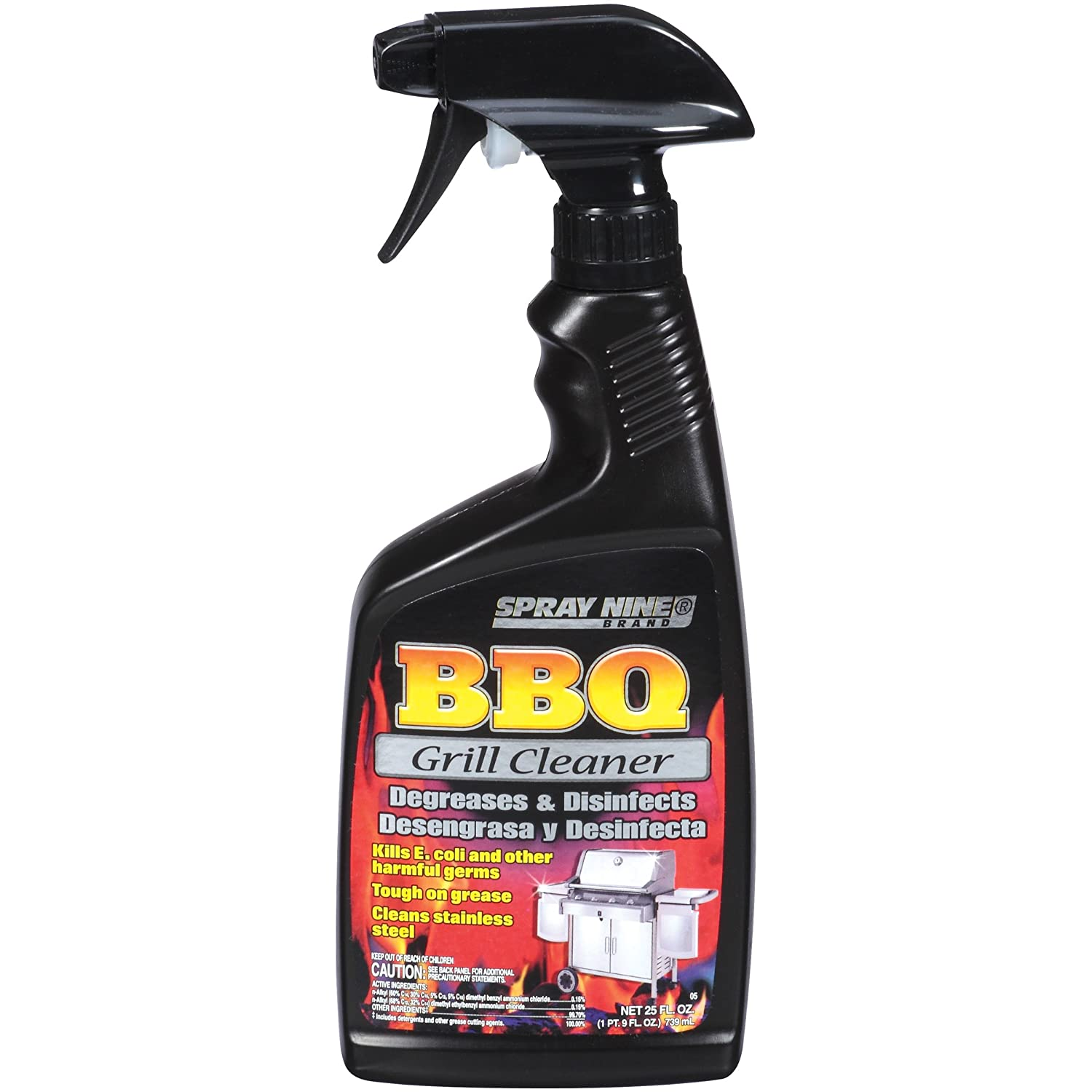 Spray Nine 15650 Barbeque Grill Cleaner, 22 oz.