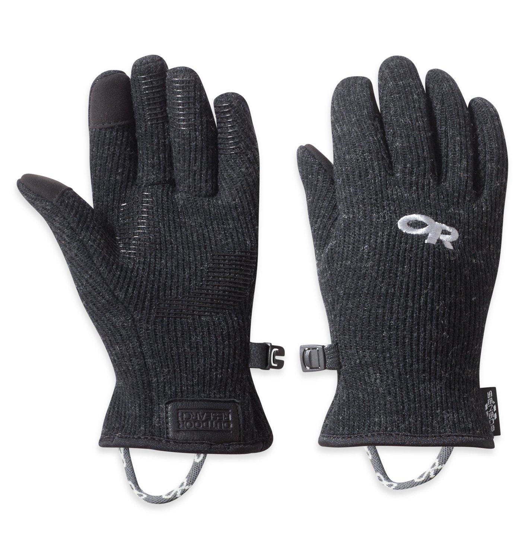 Outdoor Research Women's Flurry Sensor Gloves, Black, Small