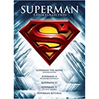 Superman 5 Film Collection on DVD