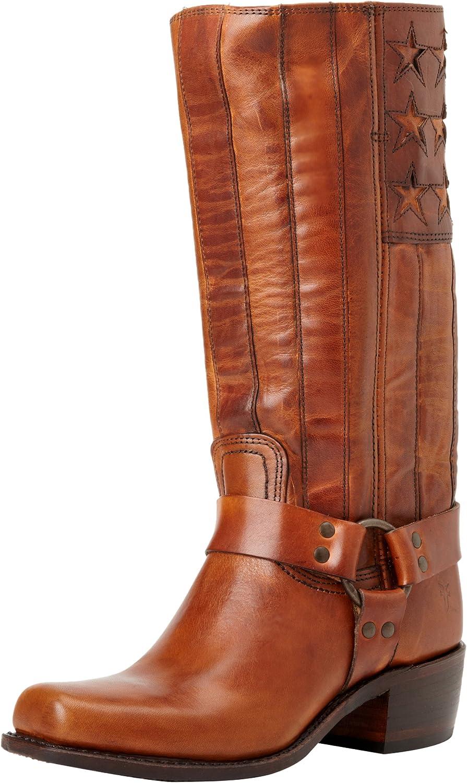 FRYE Women's Harness Americana Tall Knee-High Boot