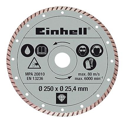Einhell - Disco diamante turbo 250x25,4x2,2mm,