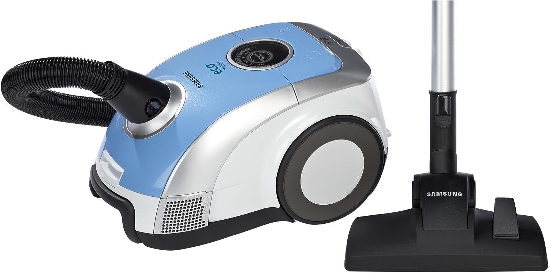 Samsung SC-1200 - Aspiradora (1200 W, 380 W, Aspiradora cilíndrica, Bolsa para el polvo, 3 L, Azul, Color blanco): Amazon.es: Hogar