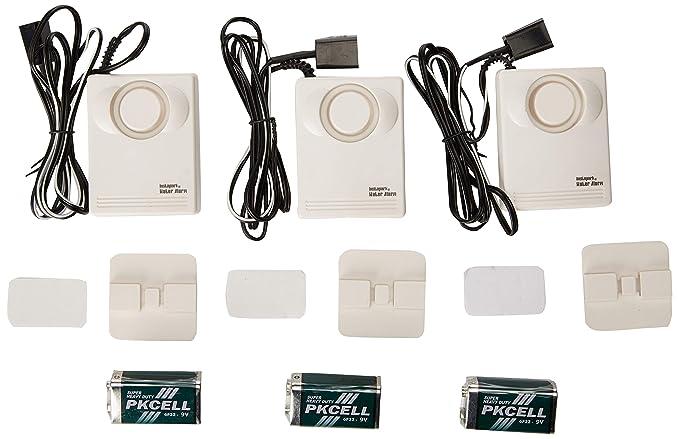 Amazon.com: Instapark IN07A Alarma y sensor de fugas de agua ...